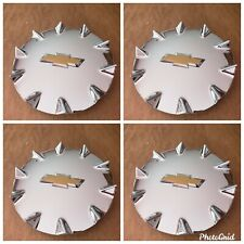 Chevy SSR  hubcaps wheel center caps chrome 2 FRONTS and 2 REARS SET OF 4