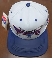 **Vintage** New England Patriots Official Pro Elite Leather Adjustable Hat NWT