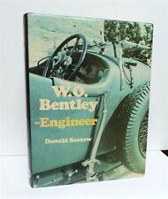 W.O. BENTLEY – Engineer, Bastow, 1st edition Haynes h/c+jkt