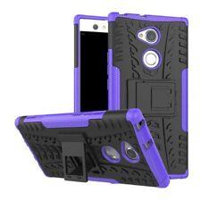 Carcasa Híbrida 2 Piezas Exterior Púrpura Funda para Sony Xperia XA2 Ultra Cover