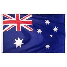 NEW 3X5ft FLAG AUSTRALIAN FOOTBALL BANNER satin material 90x150cm