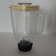 Vintage Oster Blender Kitchen Center Regency Replacement Glass Pitcher with Lid