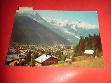 ZP601 Vintage 1967 Postcard Chamonix Mont Blanc France