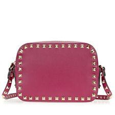 Valentino Rockstud Crossbody Bag - Camelia
