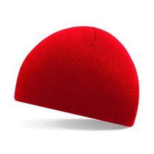 Mens Women Beanie Hip-Hop Skull Winter Warm Cuff Wool Knitted Knit Ski Cap Hat