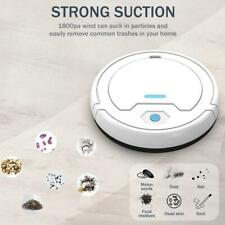 Smart Sweeping Robot Vacuum Cleaner Floor Edge Dust Clean Auto  Sweeper 3 in 1