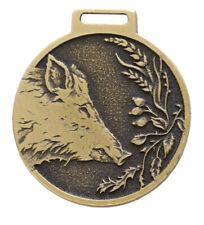 Jabalí Verraco Decoración Medalla Color Oro Premio Pämierung Nuevo