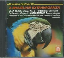 CD: VILLA-LOBOS:  A Brazilian Extravaganza (Janos Starker)