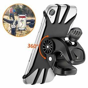 "Support Téléphone Guidon Universel Rotatif 360 Degrés Anti-Vibrations 4.5""-6.5"""