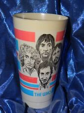 """ The Who ""Plastic Souvenir Drinking Cup 7 ELEVEN STORE FUZZ, INC"