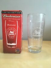 Budweiser Limited Edition Glass FA Premier League 2002-03