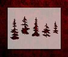 Pine trees various forest 8.5