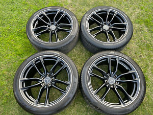"""Genuine AMG 21"""" GLC63s wheels and tyres, staggered fitment Mercedes"""