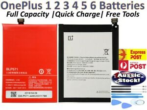 OEM OnePlus Replacements Battery For OnePlus 1 2 3 5 6 7 7T 8 Pro   Ultra Li-ion