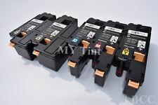 5 x Toner for Dell C1660W DELL C1660CNW 332-0399 332-0400 332-0401 332-0402