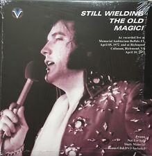 ELVIS STILL WIELDING THE OLD MAGIC 1972 CD 2 LPS DVD POSTER N° /400 EX. SCELLÉ