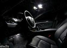 OPEL Astra H Pack 7 bombillas LED Blanco iluminación luz techo maletero cajas