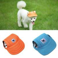 Tail Up Pet Dog Hat Baseball Cap Windproof Puppy Pet Travel Sports Sun Hats   US