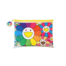 Takashi Murakami POP UP FLOWER Plastic Pouch stars Exhibition Limited