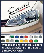Sports Mind SUZUKI Sport Car Sticker/Decals x 2