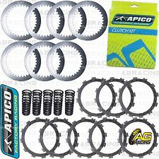 Apico Clutch Kit Steel Plates & Friction Plates For Suzuki RMZ 250 2013 MotoX