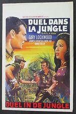 Duel dans la jungle - Lockwood & Helm - Affiche 1964 Film Poster Plakat (Y-4635+