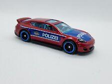 Hotwheels Porsche Panamera Police Car - Excellent