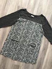 BHS AUTHENTIC WOMENS DESIGNER CHARCOAL COLOR TUNIC DRESS PLUS SIZE 20 UK STRETCH