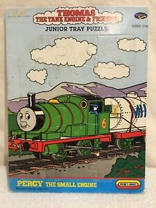 Percy the Small Engine -Thomas the Tank Engine -Vintage 15pc Jigsaw Puzzle