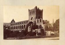 JEDBURGH ABBEY + GLASGOW CATHEDRAL NAVE + EXTERIOR BY G. W. W. 3 PHOTOS