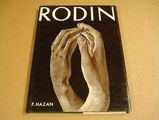 LIVRE ART / RODIN SCULPTURES