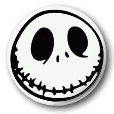 "Jack Skellington 25mm 1"" Button Badge , Nightmare before Christmas Tim Burton wh"