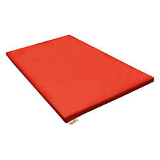 Implay® Soft Play PVC Foam Red Gym Crash Exercise Safety Mat - 120 x 90 x 5cm