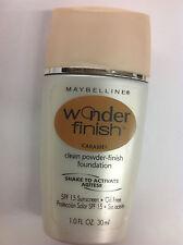 Maybelline Wonder Finish Liquid-to-Powder Foundation CARAMEL NEW.
