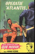 BOB MORANE EO Moran ZNU Edition Originale Néerlandais 1950s Opération Atlantide