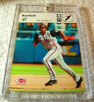 KEN GRIFFEY JR 2005 LEAF SPORTSCASTERS LEAPING-GLOVE WHITE #25 SERIAL #13/35