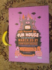 Texas ATM  Adult Swim Poster Board Northgate District 22inW/28inTall