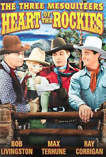 The Three Mesquiteers - Heart of the Rockies (DVD, 2006)  New!