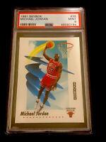1991 SKYBOX #39 MICHAEL JORDAN PSA 9 MINT CHICAGO BULLS