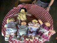 Vintage Cabbage Patch Kids Dolls - Lot of 5