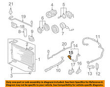 Acura HONDA OEM RL A/C AC Condenser/Compressor/Line-Pressure Reg 80800SZ3A01
