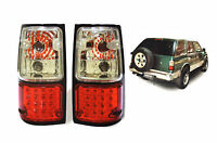 CLEAR RED LENS LED TAIL LAMPS LIGHT FOR ISUZU HOLDEN CAMEO TFR UTE 1989 90-1996