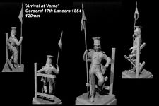 CGS Military Figs 17th Lancer Corporal Crimea 1854 120mm Unpainted kit CORRY