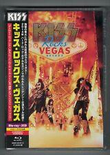 """KISS ROCKS VEGAS"" JAPAN BLU-RAY +2CD *SEALED*"