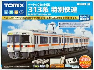 Tomix 90173 JR Series 313 Commuter Train N Scale Starter Set (N scale)