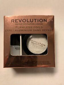 NEW Revolution Makeup Flawless Foils Eye Shadow w/Intensifying Primer YOU CHOOSE