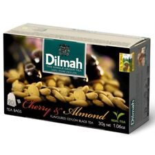 Dilmah Cherry & Almond tea- 20 tea bags- Made in Germany