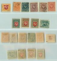 Lithuania 1919 SC 40-49 mint or used wmk 145. rt8755