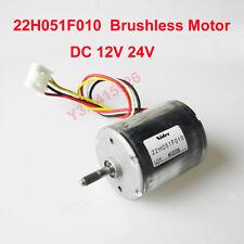 Nidec DC Brushless Motor DC 12V 20V 24V 13600RPM 18W Dual Ball Bearing With Hall