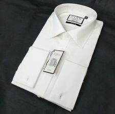 Thomas Pink Mens Dress Shirt Classic Fit Ivory 19 - 37.5 48 - 95cm
